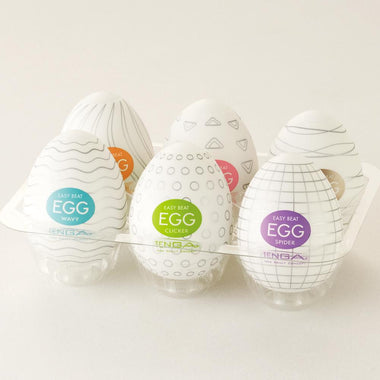 Tenga Masturbators EGG Variety Pack (6 in 1)