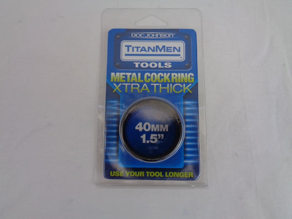 Titanmen Metal Cock Ring ****