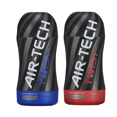 Tenga Masturbators Ripple Blue Air Tech Twist