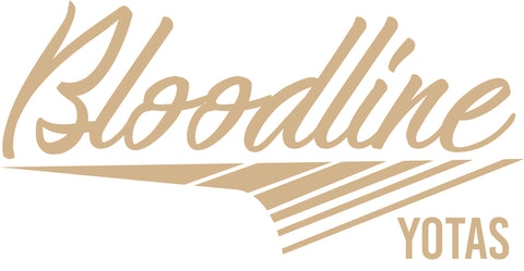 Bloodline Retro Decal Tan