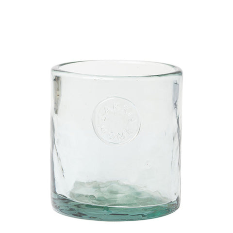 Zakkia - Glass Votive, Aqua