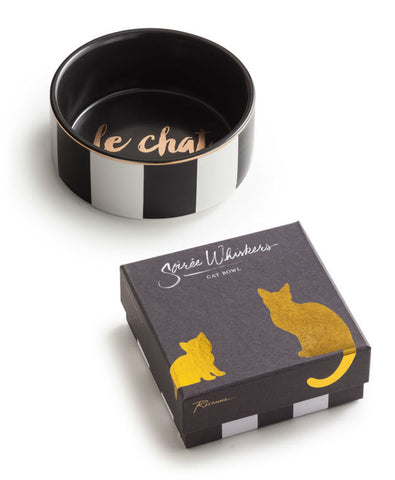 Rosanna Inc. - Soirée Whiskers Le Chat Cat Dish