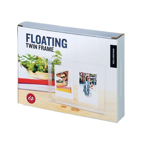 IS GIFT - Floating Photos Twin Frame