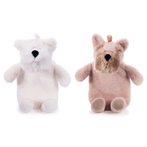 IS GIFT - Terrier Plush Hot Water Bottle, Assorted Styles