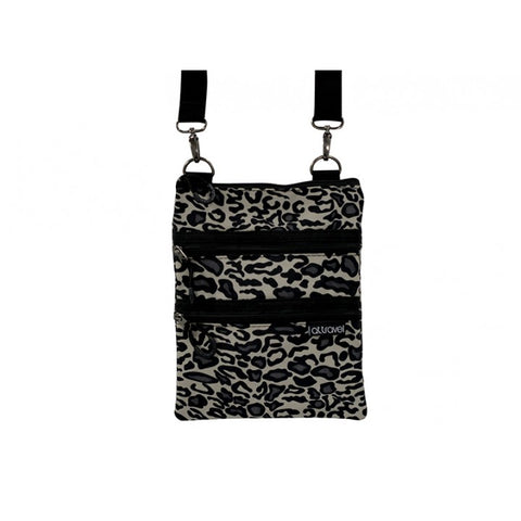 Annabel Trends - AT Travel 3 Zip Bag, Ocelot