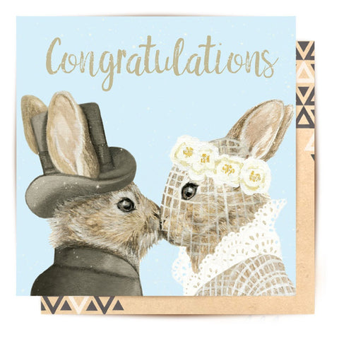 Lalaland - Bunny Love Gretting Card