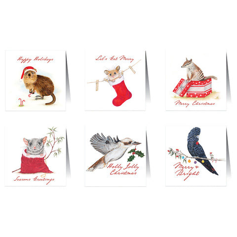 Lalaland - Christmas Card Set, Natives