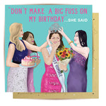 Lalaland - Miss Humble Greeting Card