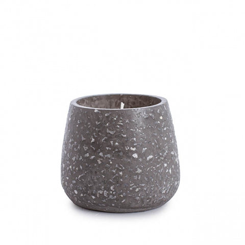 Keri - Limited Edition Medium Grey Terrazzo Scented Candle, Ambergris