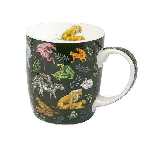 Lalaland - Fine Bone China Mug, Wild Fur You