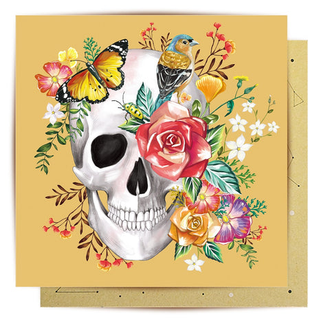 Lalaland - Beautiful Bones Greeting Card
