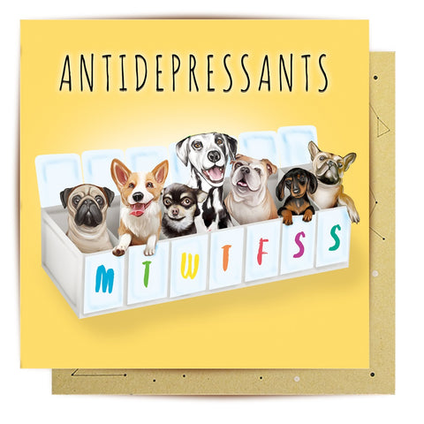 Lalaland - Antidepressants Greeting Card