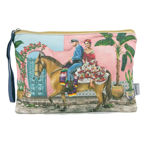 Lalaland - Canvas Clutch Bag, Frida's Paradise Vol. 2