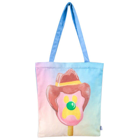 Lalaland - Canvas Tote Bag, Bubble O'Bill