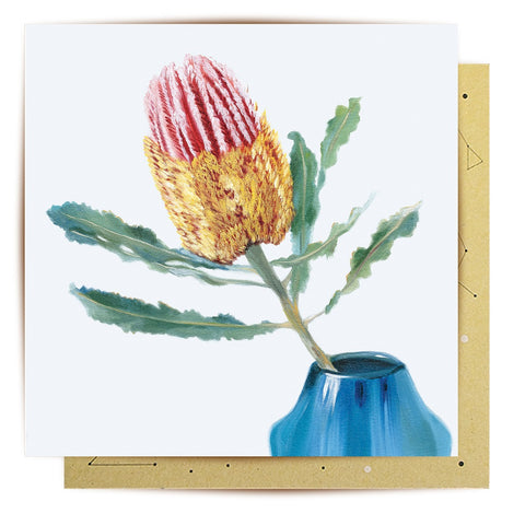 Lalaland - Brillance Banksia Greeting Card