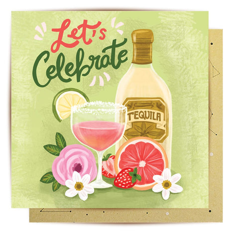 Lalaland - Celebration Cocktail Greeting Card