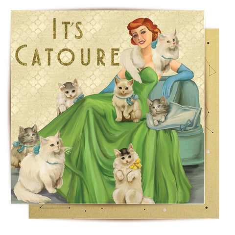 Lalaland - Catoure Greeting Card