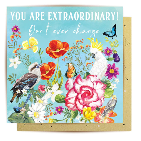 Lalaland - You Are Extraordinary Greeting Card