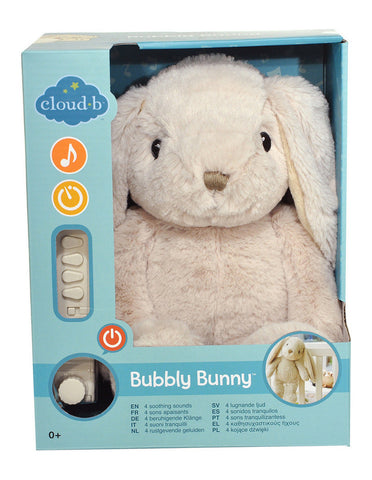 Cloud b - Bubbly Bunny with 4 Soothing Sounds & Story Booklet