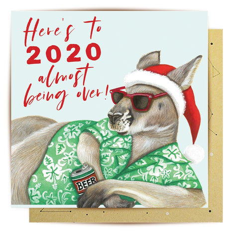 Lalaland - Here's to 2020 Greeting Card