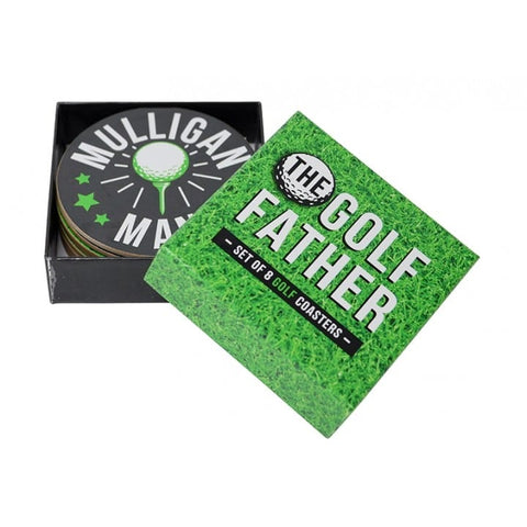 Annabel Trends - Coaster Set, The Golf Father