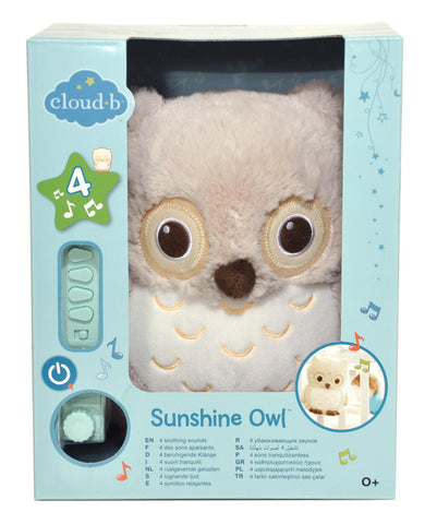 Cloud b - Sunshine Owl with 4 Soothing Sounds