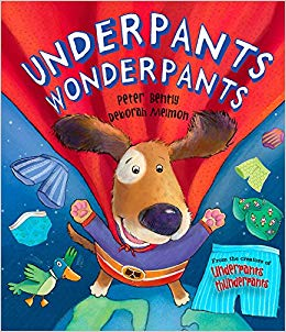 Underpants Wonderpants - Picture Book (Hardback)