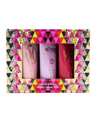 MOR Boutique - Floral Soiree Hand Cream Trio