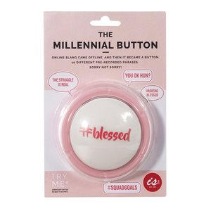 IS GIFT - The Millennial Button