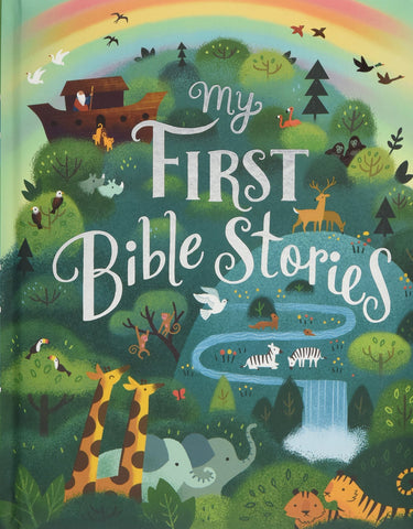 My First Bible Stories (Padded Hardcover with Ribbon Ties)
