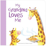 My Grandma Loves Me Board Book