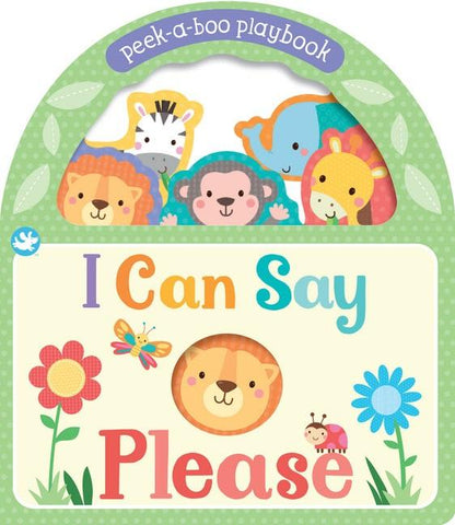 Little Me Peek-a-Boo Board Book - I Can Say Please