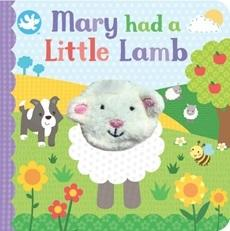 Little Me - Finger Puppet Book, Mary Had a Little Lamb