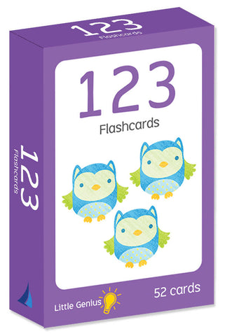 Little Genius Cards - 123 Flash Cards