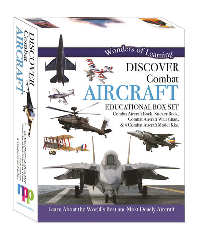 Wonders of Learning Box Set - Discover Combat Aircrafts
