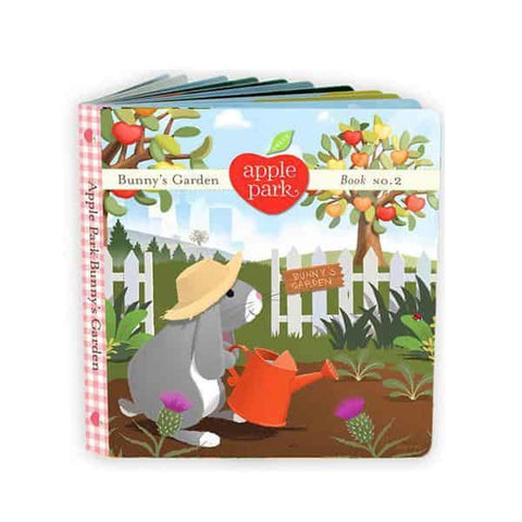 Apple Park - Board Book No. 2, Bunny's Garden (100% Organic)