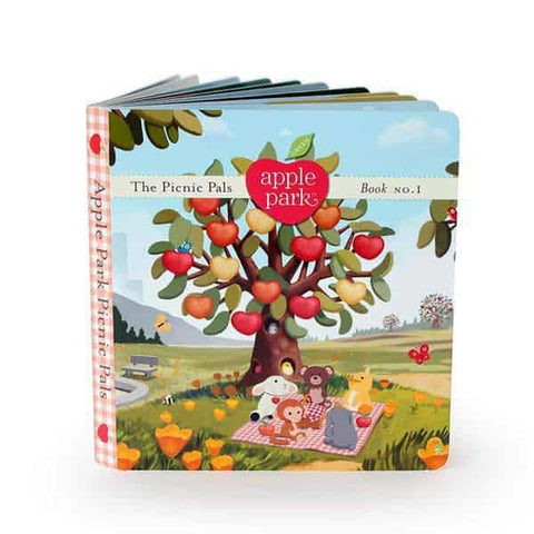 Apple Park - Board Book No.1, The Picnic Pals (100% Organic)