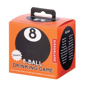 Kikkerland - Magic 8-Ball Drinking Game