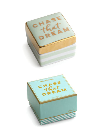 Rosanna Inc. - Charm School Trinket Box, Chase That Dream