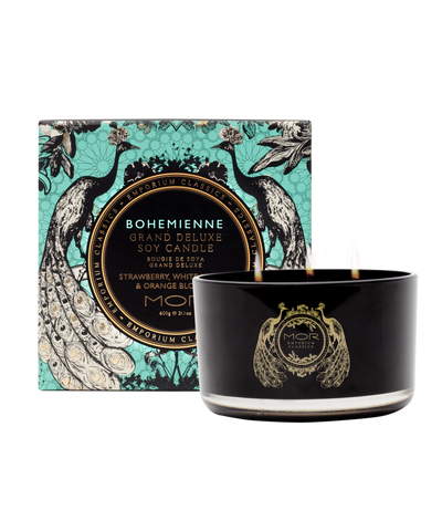 MOR Boutique - Bohemienne Grand Deluxe Soy Candle 600g