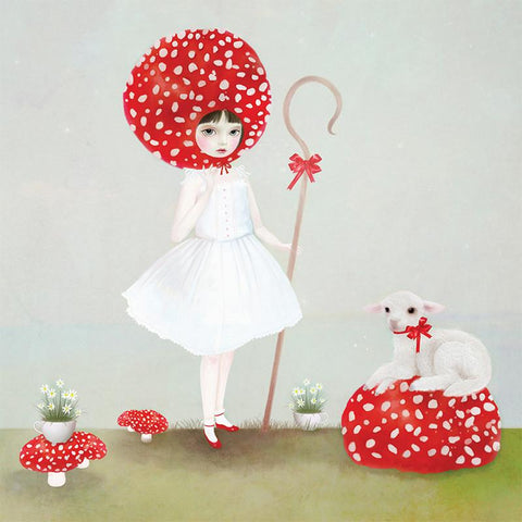Lalaland - Little Bo Peep Greeting Card