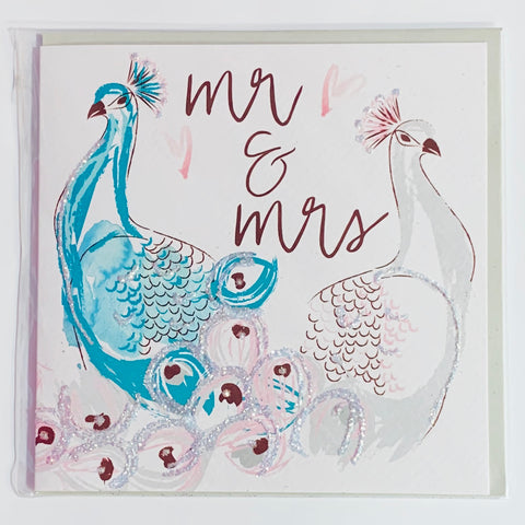 Malarkey - Mr and Mrs Greeting Card