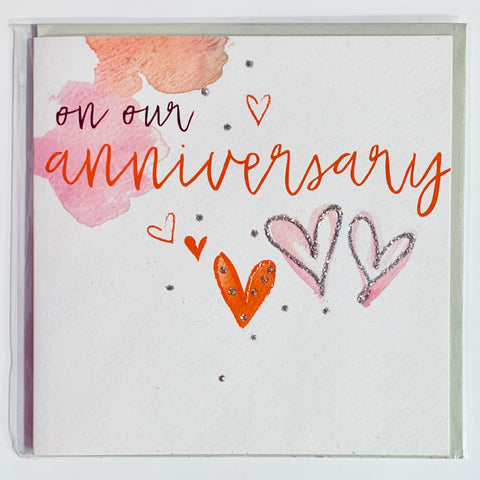 Malarkey - On Our Anniversary Greeting Card
