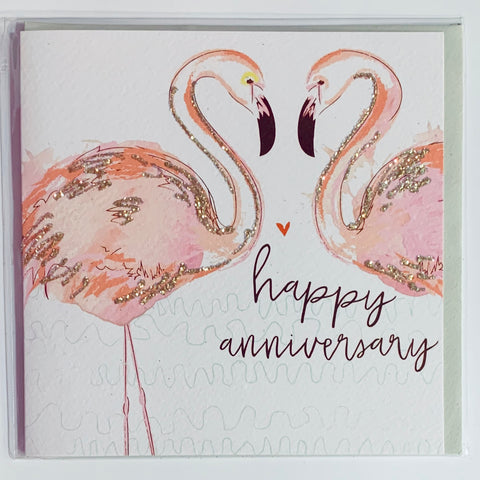 Malarkey - Happy Anniversary Greeting Card