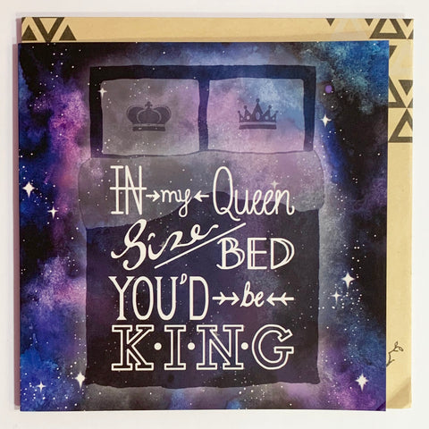 Lalaland - King Greeting Card