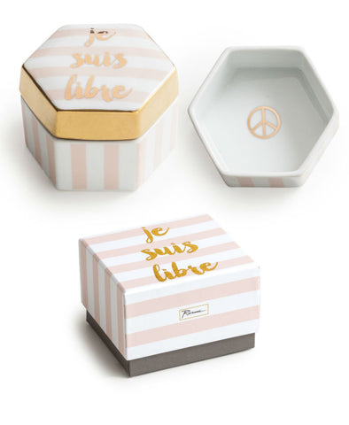 Rosanna Inc. - Ladies Choice Trinket Box, Je Suis Libre (I am Free)