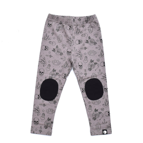 Little Lords - Skulls n Stuff Leggings, Sizes 0-4
