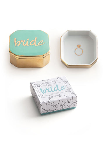 Rosanna Inc. - Love Trinket Dish with Lid, Bride