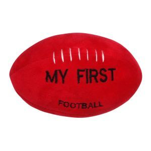 ES Kids - Baby's First Football with Rattle, AFL Style