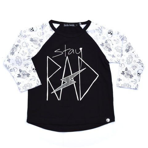 Little Lords - RAD Raglan Sleeve, Sizes 1-4